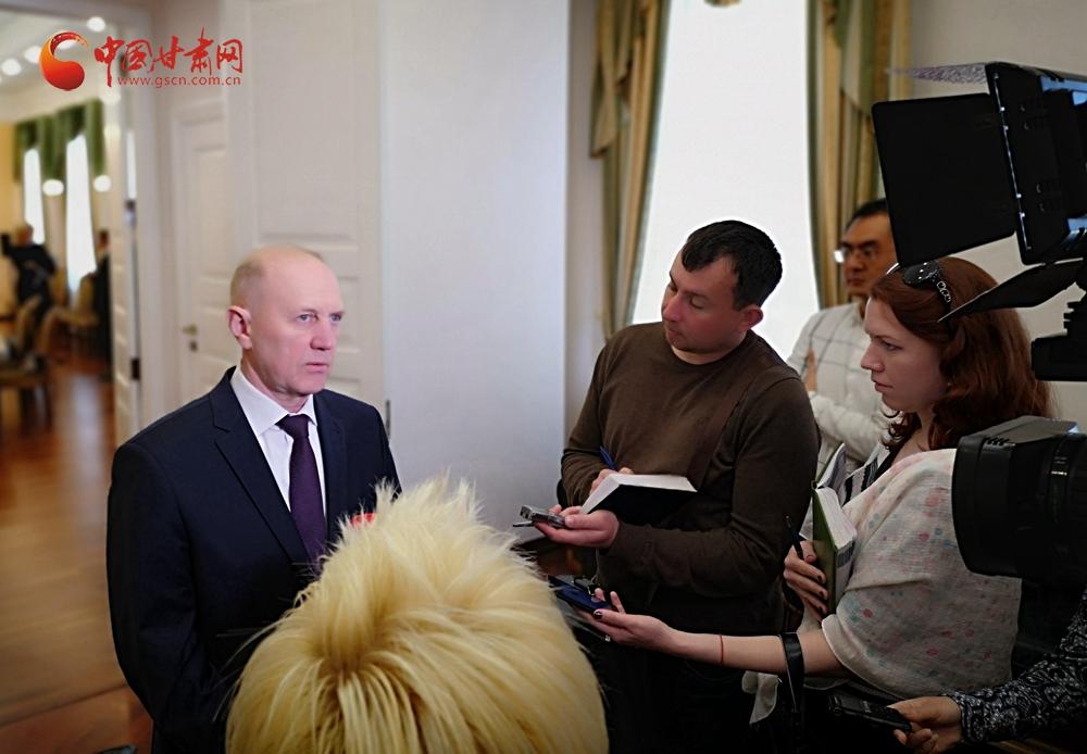 """""""一带一路""""上的甘肃省与格罗德诺州 推动多领域合作共促协同发展"""