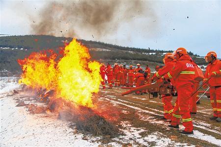 绷紧一根弦 全力防火患 ——甘肃太子山国家级自然保护区管理局森林草原防火见闻
