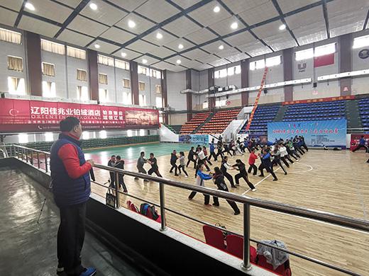第二届中国大学生太极拳推手培训班成功举行