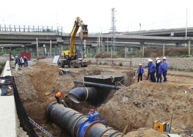 兰州:新水源管线与城市供水管网首次碰接已完成