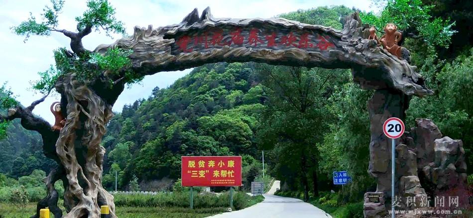 麦积区花庙村:假日乡村旅游推动小山村的巨变