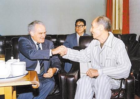"""【走进中科院兰州分院】杨澄中:中国""""重离子""""事业奠基人"""