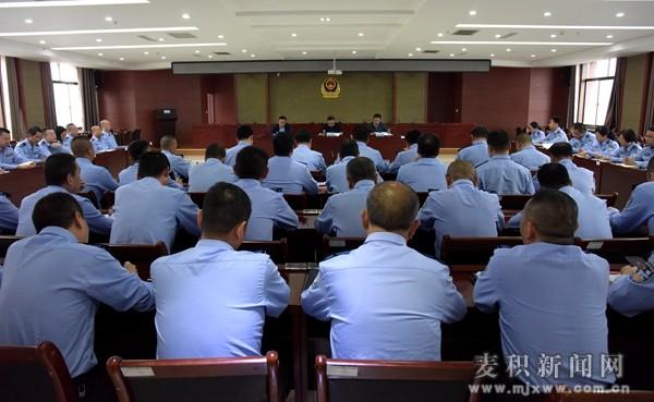 张智明调研麦积区公安工作