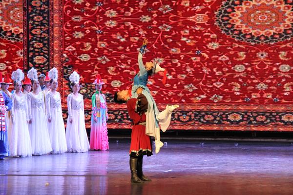情景歌舞剧《裕固风华》将于7日晚亮相兰州音乐厅 中国甘肃网全程网络直播(图)
