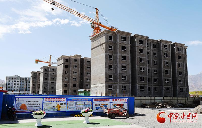 酒泉肃北:加大棚改力度 改善人居环境(图)