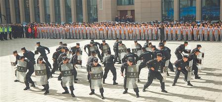 武威举行警营开放日活动