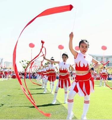 2019年甘肃青少年校园足球夏令营在兰州榆中开营
