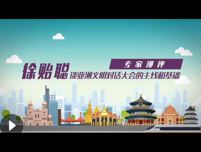 徐贻聪谈亚洲文明对话大会