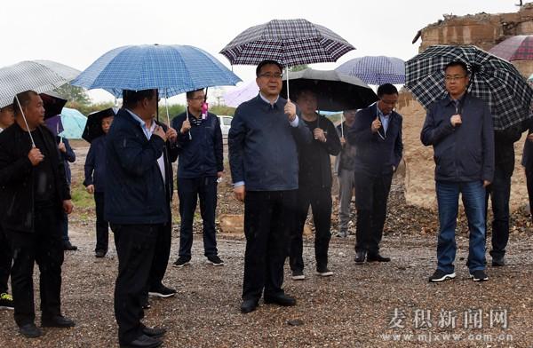 张智明带队督查全区环境突出问题整改落实情况