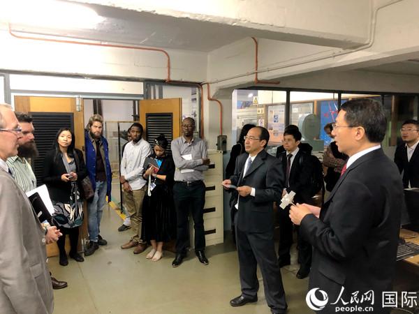 北京交通大学代表团与金山大学达成合作共识 中国高铁发展震撼南非大学生