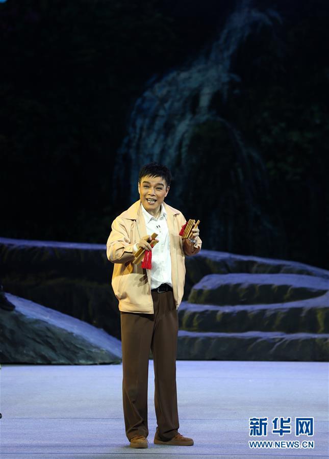(文化)(4)豫剧现代戏《重渡沟》在沪上演