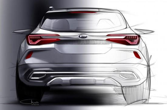 起亚公布全新小型SUV设计图 年底上市
