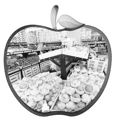 """兰州水果""""身价""""高 苹果梨入列""""贵族"""""""