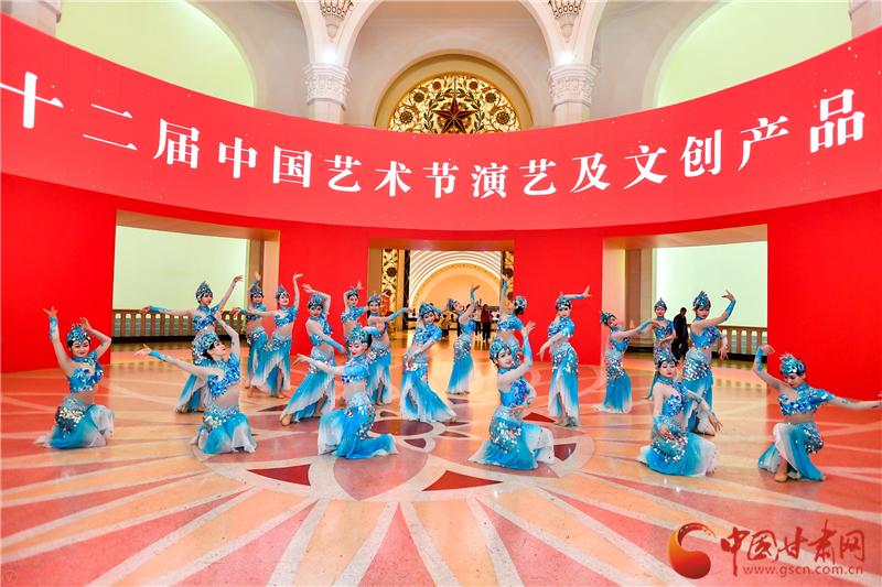 震撼全场!《敦煌乐舞》惊艳亮相第十二届中国艺术节中心舞台(图)