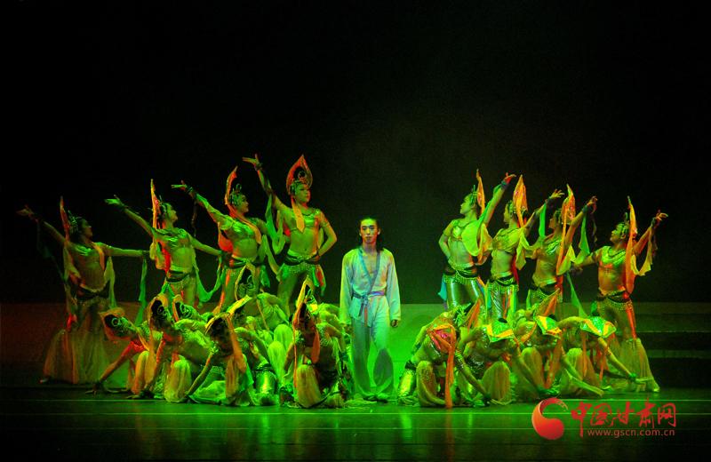 经典舞剧《大梦敦煌》27日晚将亮相甘南大剧院 中国甘肃网将全程网络直播(图)