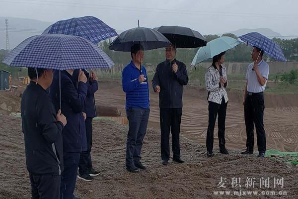 省生态环境厅副厅长闫子江深入麦积区检查指导生态环境保护工作