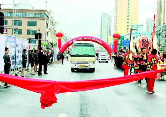 白银市城市地下综合管廊项目竣工暨北京路金沟桥通车仪式举行