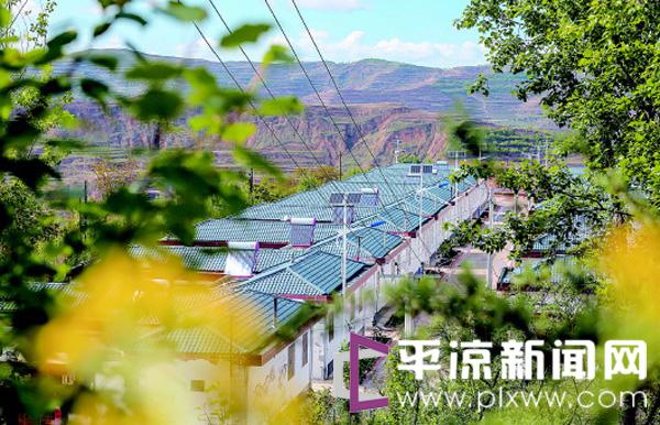 平凉静宁县贾河乡大力推进美丽乡村建设