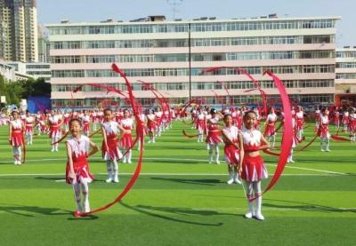 """兰州市榆中县文成小学举办庆""""六一""""文艺汇演"""