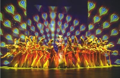 大型传统主题歌舞《相约千年》绽放金城兰州