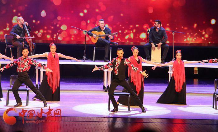 西班牙纯美弗拉门戈舞在兰上演 带市民感受异域风情