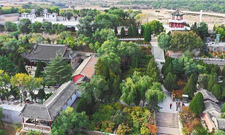 【印象陇原】黄土高原上的璀璨明珠——陇西仁寿山