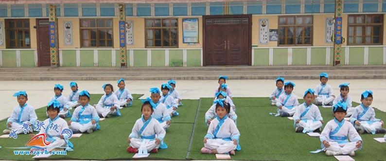 民乐曹营小学以传统文化多举措打造书香校园