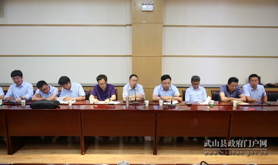 武山县与唐人神集团举行座谈会对接生猪全产业链项目