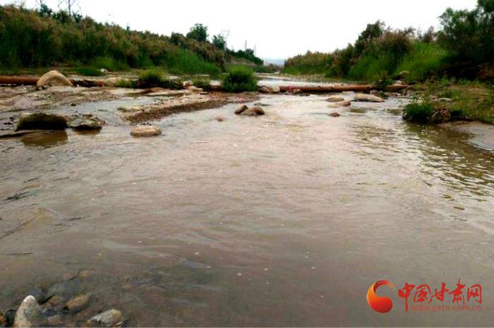 兰州榆中:宛川河又见长流水