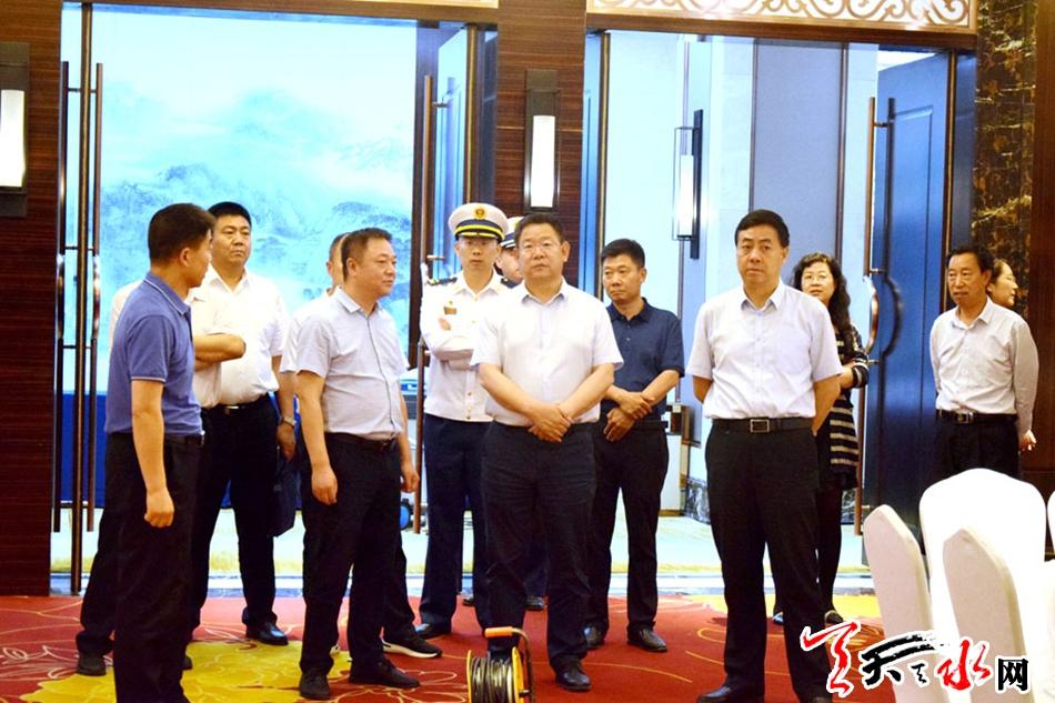 张建杰 逯克宗督查天水伏羲大典节会筹备工作