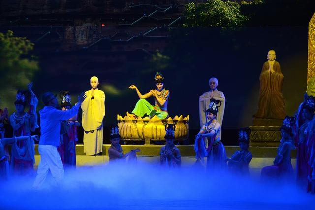 大型原创舞台剧《天一生水》进入带妆彩排阶段
