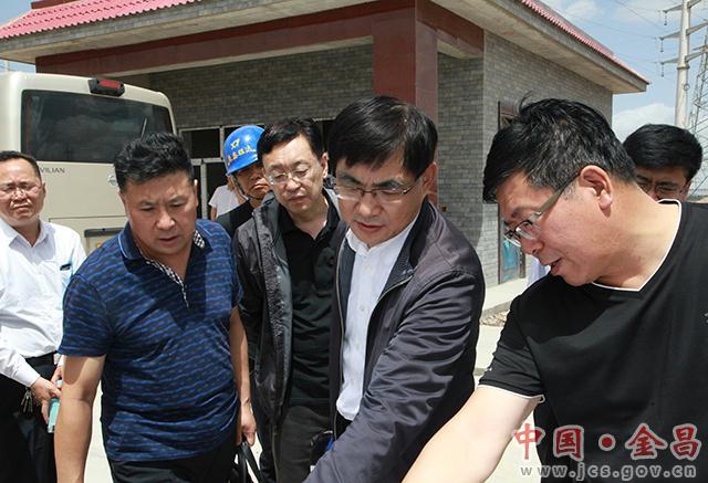 杨建武在督查调研重大项目建设情况时强调  强化服务保障 全力推进项目早建成早投产早见效