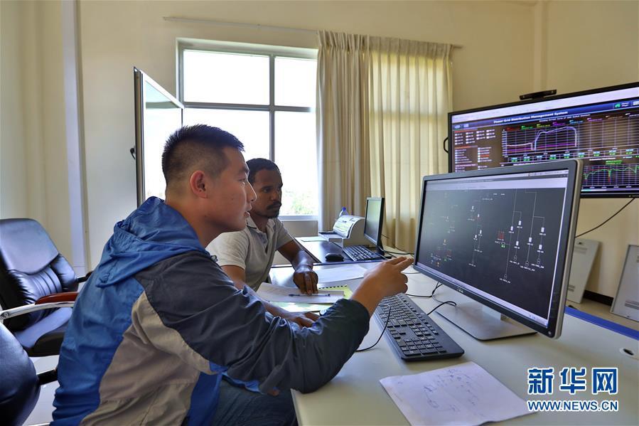 (国际)(1)中国企业助力埃塞俄比亚电网升级改造