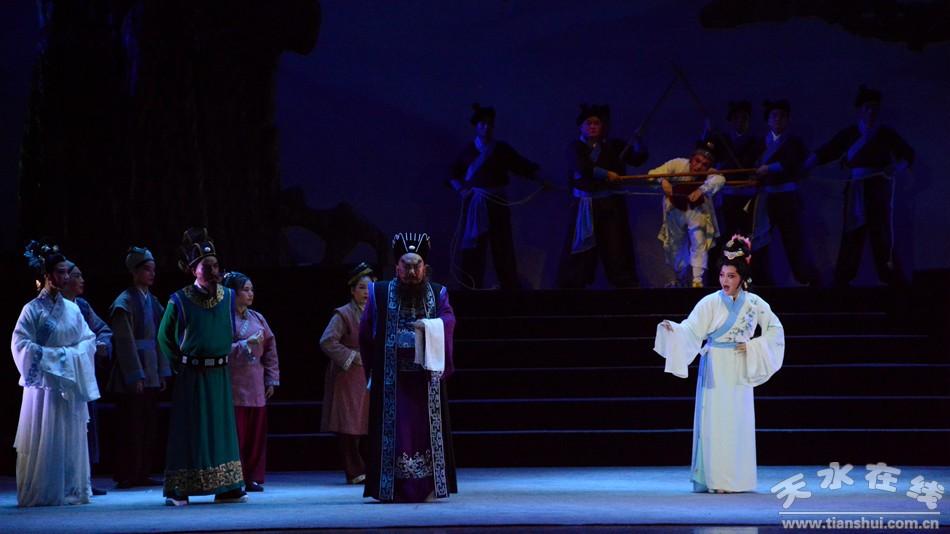 武山县大型秦腔古装剧《洞天仙歌》在秦州大剧院隆重首演
