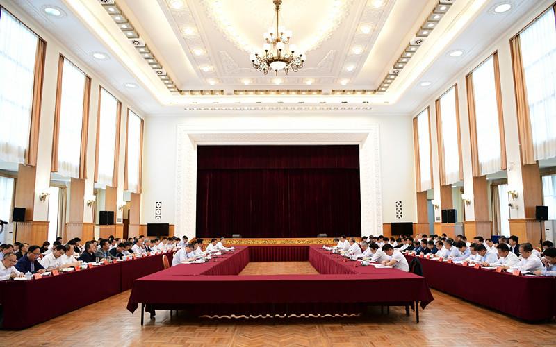 甘津两省市扶贫协作和对口支援工作对接会在兰举行
