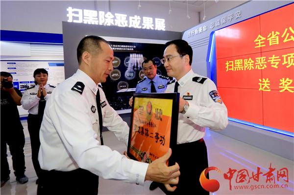 甘肃省公安厅因地制宜推进公安工作和队伍建设不断取得新进步(图)