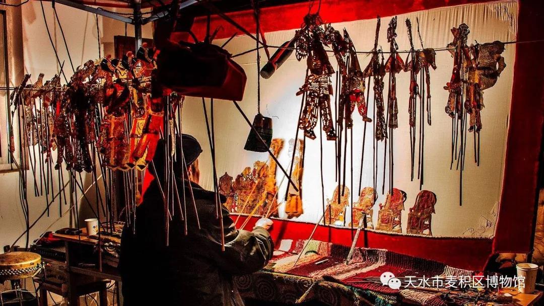 【活动预告】省级非物质文化遗产——麦积区皮影戏展演活动开演了