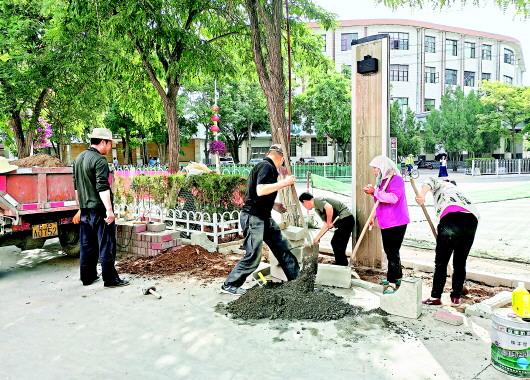 白银平川区着力推进公共服务设施建设与完善(图)