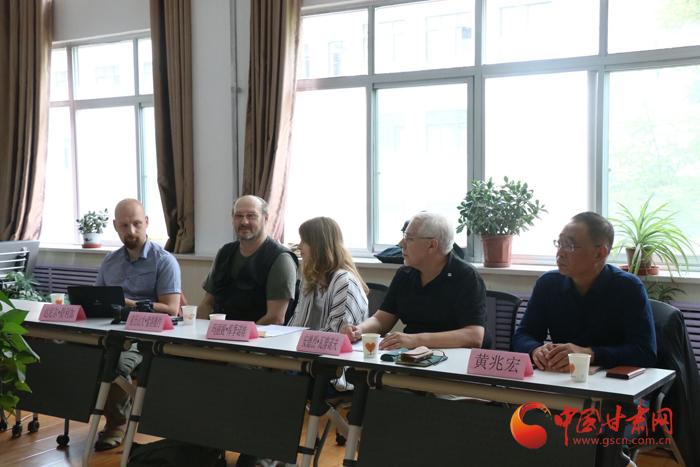 中外学者汇聚甘肃共话岩画考古学(图)