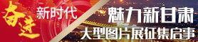 """""""奋进新时代·魅力新甘肃""""大型图片展征集启事"""