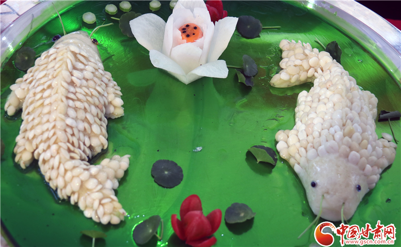 秀色可餐!陇上美食博览会厨艺大师打动您的味蕾(组图)