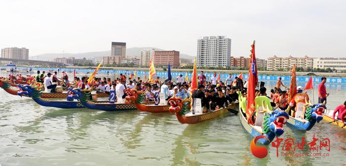 2019年中国龙舟公开赛(甘肃·天水·麦积站)6日在麦积翠湖激情开桨(文图+视频)
