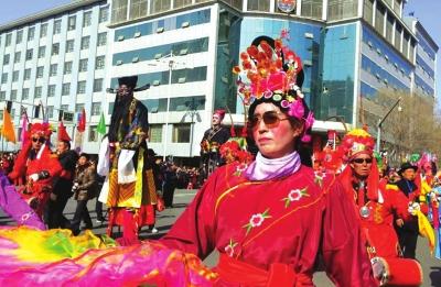 地方民俗文化纪录片《凉州社火》正式上线