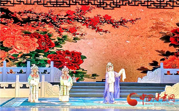第14届全国高校京剧演唱会在兰州开幕 学霸献唱国粹