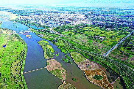 守望黑河湿地