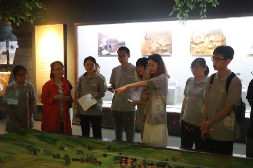 """西北大学历史学院师生到张家川县博物馆开展暑期""""三下乡""""社会实"""
