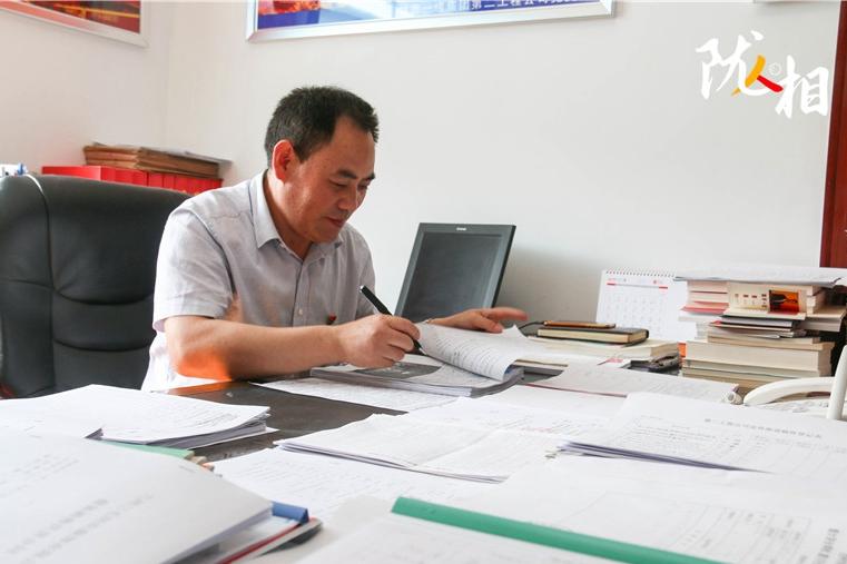 【陇人相】高明顺:23年不忘初心 以责任搭建党群连心桥