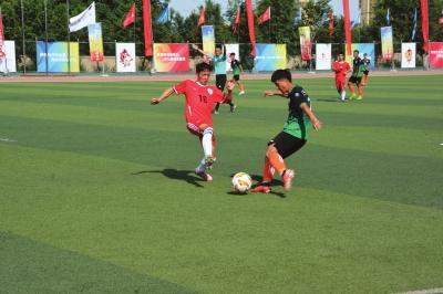 第四届甘肃省大学生运动会足球赛 东道主河西学院战平甘政法