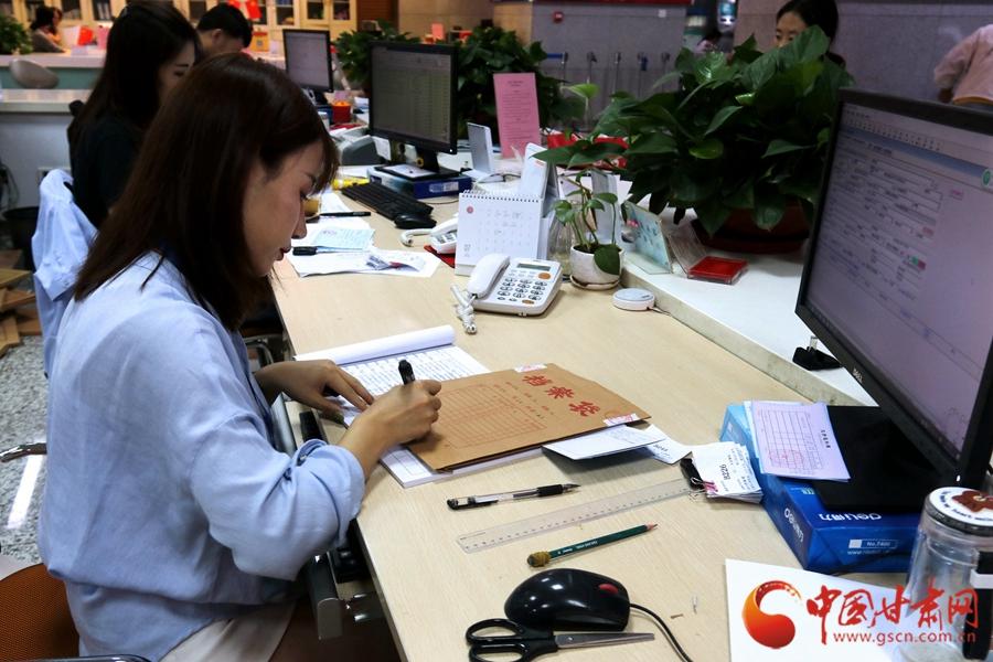 多措并举 甘肃省人力资源市场扎实做好档案管理服务工作