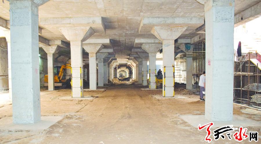 【壮丽70年 奋斗新时代】探访麦积商埠路埠北路地下商业街项目